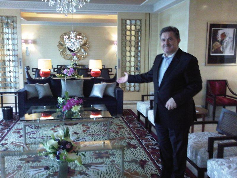 Gerhard E Mitrovits, GM Hotel Indonesia Kempinski