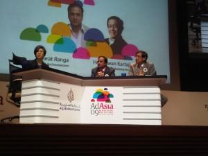 Menjadi pembicara di Malaysian Advertiser Association